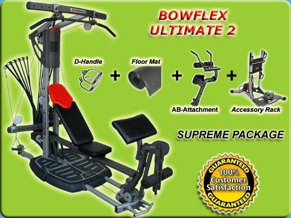 Bowflex Ultimate 2 2007 New Supreme Package