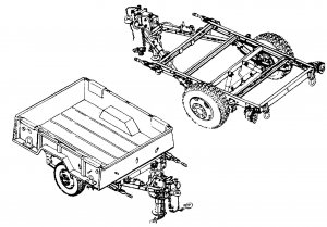 12 Technical Manuals for Trailers M101 M103 M105 M116 M416