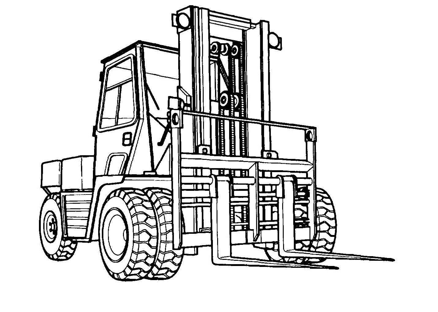 Mhe 237 Forklift Truck Case Model M4k Service Manual