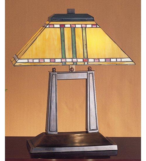 20 Inch H Prairie Corn Oblong Desk Lamp Table Lamps