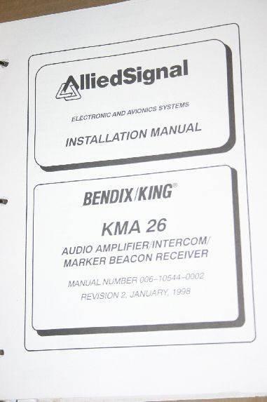 Allied Bendix King KMA26 MB Receiver Intercom maintenance