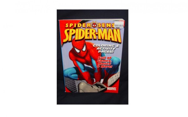 Spider-sense Spider-man Coloring And Activity Pages