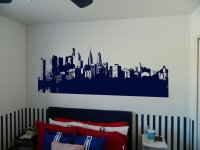 PHILADELPHIA PENNSYLVANIA Skyline Vinyl Wall Sticker Decal ...