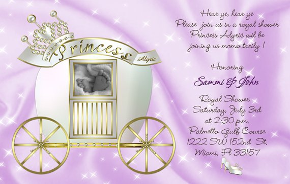 Or Ultrasound Baby Shower Invitations