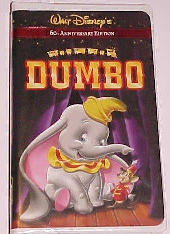 Dumbo VHS 2001 60th Anniversary Edition