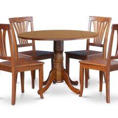 Round Table 6 Chairs Dimensions Dining Chair Set Hans Olsen Frem Rojle 5 Piece Dublin Dinette Kitchen 42 Diameter 4