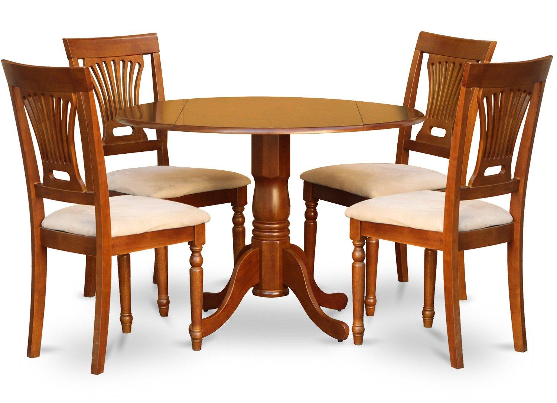 42 Round Dinette Set 4 Chairs