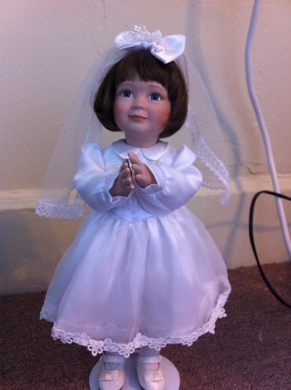 AshtonDrake First Communion Porcelain Doll