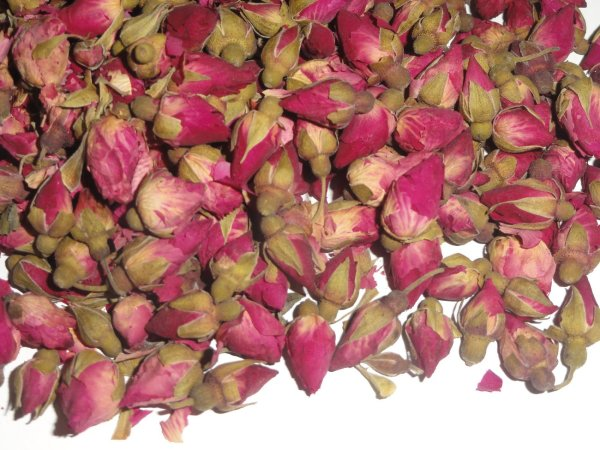 1 Oz. Miniature Chinese Rose Buds - Dried Tea Herb Flower