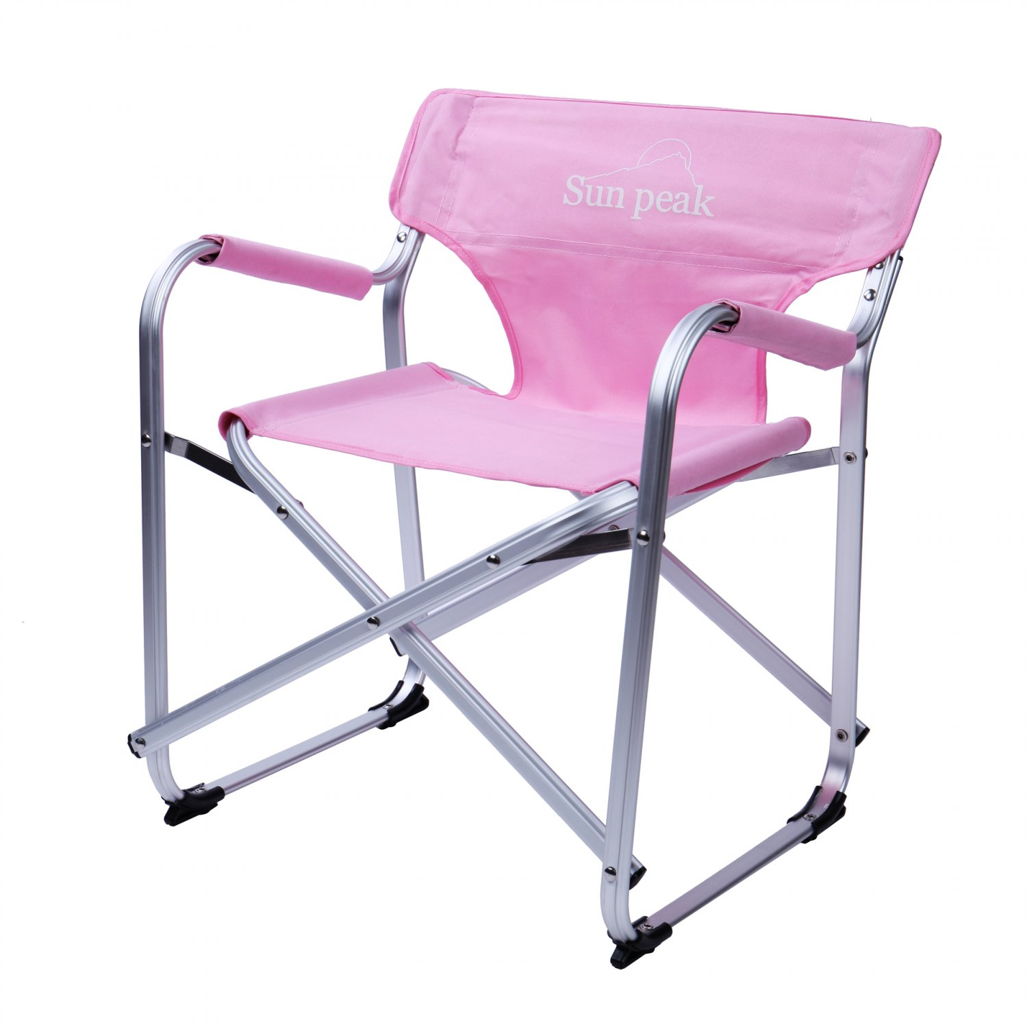 pink folding chair high top patio chairs lightweight mini portable camping seat w