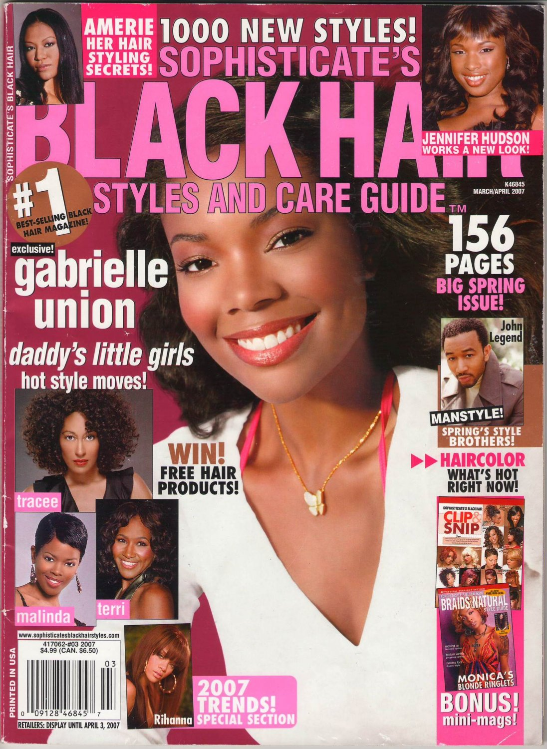 Sophisticates Black Hair Styles and Care Magazine Guide Amerie Her Hair Styling Secrets