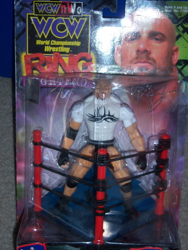 Goldberg Wcw Ring Fighters Action Figure
