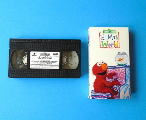 Elmo Sesame Street Vhs Tape - Year of Clean Water