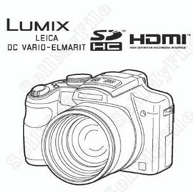 Panasonic Lumix DMC FZ35 Series Service Manual in PDF