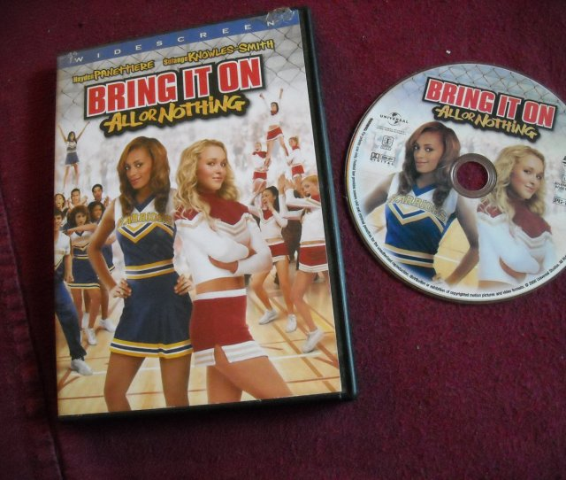 Bring It On All Or Nothing Dvd Hayden Panettiere Solange Jake Mcdorman Jojo Wright 2006