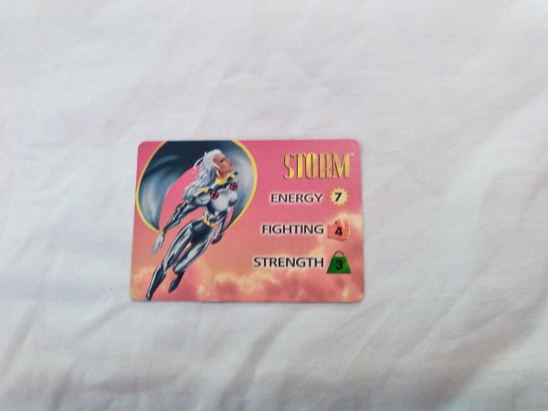 Marvel Overpower - Storm . 34 Common Character Card