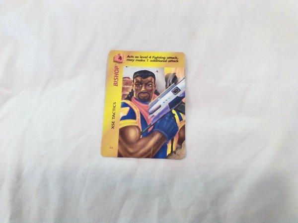 Marvel Overpower - Bishop Xse Tactics . 50 F4 Common