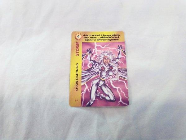 Marvel Overpower - Storm Chain Lightning . 205 E4 Aa