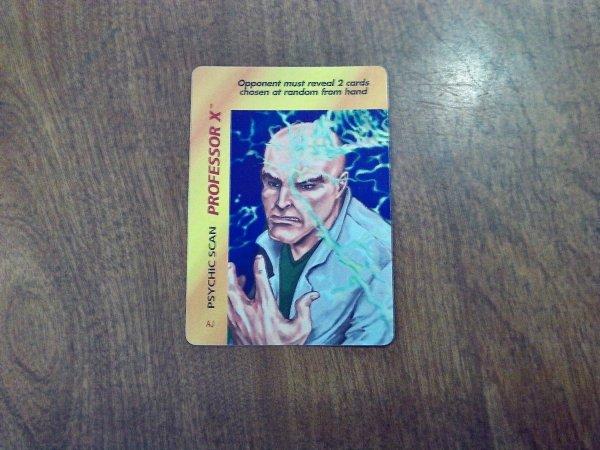 Marvel Overpower - Professor X Psychic Scan . 162 Aj