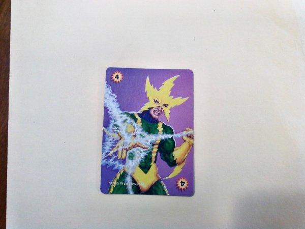 Marvel Overpower - Electro . 284 E4 Common Power Card
