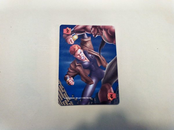 Marvel Overpower - Black Widow . 290 F2 Common Power