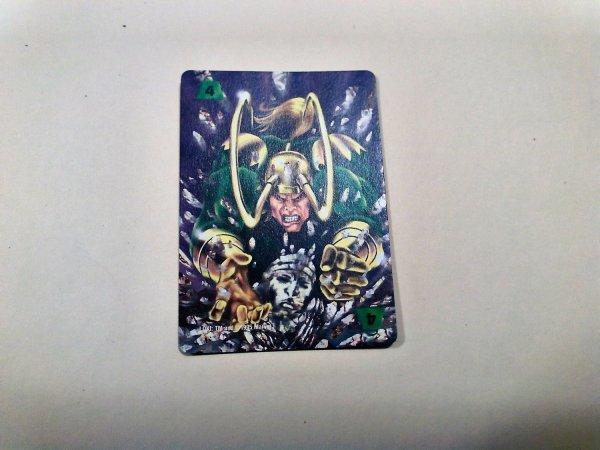 Marvel Overpower - Loki . 300 F4 Common Power Card