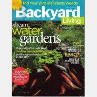 backyard living magazine - 28 images - backyard living ...