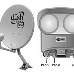 Dish Network Installation Diagram 1998 Dodge Dakota Wiring 2 500 Satellite Dishes Dishpro Plus Twin Lnb's