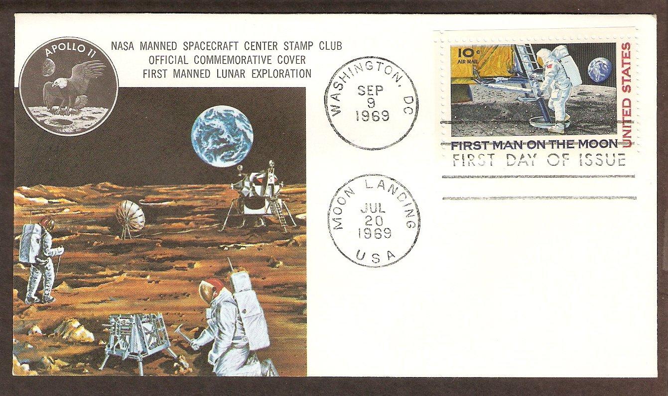 Apollo 11 Space First Man on Moon NASA 1969 Spacecraft
