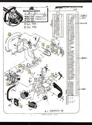 eager beaver chainsaw parts diagram 1999 toyota camry engine chain saw list mc culloch mac 110 120 130 134 140