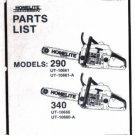 Chain Saw Parts List STIHL MS 270, 270 C, 280, 280 C