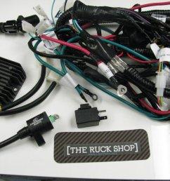 honda engine wiring harnes [ 1500 x 1125 Pixel ]