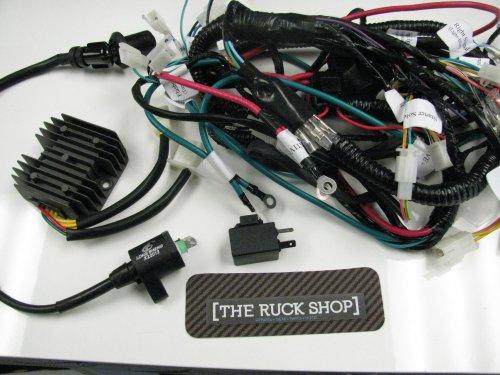 small resolution of atr honda ruckus 150cc gy6 motor swap harness