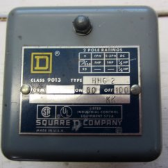 Square D Pressure Switch 9013 Wiring Diagram Volvo Penta Dynastart Hhg 2 On 80 Off 100 Hhg2