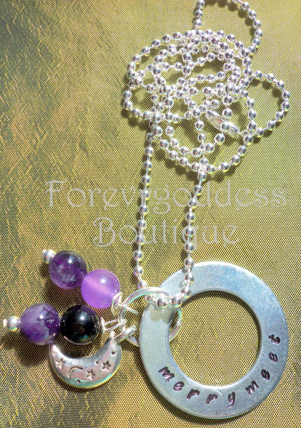 Merry Meet Amethyst Necklace