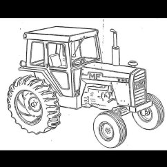 Massey Ferguson 135 Parts Diagram Residential Electrical Wiring Mf 1155 Tractor Manual + Part Number List