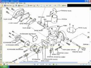 ALLIS CHALMERS D17 D17 TRACTOR COMPLETE PARTS MANUALs