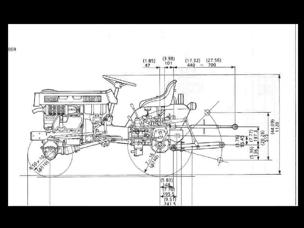 KUBOTA B4200 WORKSHOP SERVICE MANUAL for B-4200 Tractor