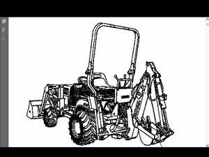 KUBOTA BT600 PARTS MANUAL for BT 600 Tractor Backhoe Part