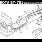 KUBOTA B6100 B 6100 E OPERATION PARTS MANUALS 575pg for