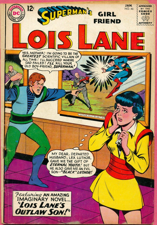 Superman Girlfriend Lois Lane 46 Silver Age 164 DC