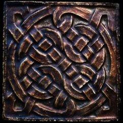 Decorative Tiles For Kitchen Backsplash Nook Table Celtic Tile Sculpture