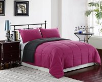 QUEEN/Full Size Bed 3pc Reversible Down Alternative ...