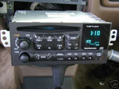 2003 Impala Fuse Diagram Delco Gm Chevy Am Fm Cd Radio Caprice Impala S10 Blazer