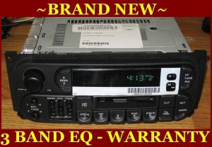 NEW 19992001 JEEP GRAND CHEROKEE INFINITY CASSETTE RADIO W CD Changer Controls