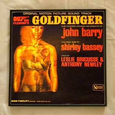 Album Cover for sale  James Bond 007  Goldfinger