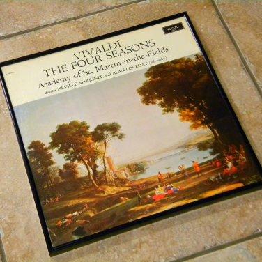 Record Album Cover – Vivaldi - The Four Seasons