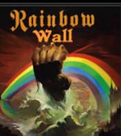 Rainbow Wall the Album Cover Store with vintage album covers