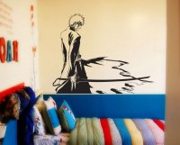 Bleach Kurosaki Ichigo Anime Sticker Vinyl Wall Decal (A0013D)