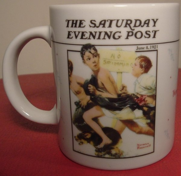 Norman Rockwell Saturday Evening Post Mugs